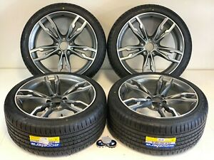 20 Inch Wheels Rims And Tires Fit Bmw M5 F90 G30 G31 Style M6 B7 5x120 Gray
