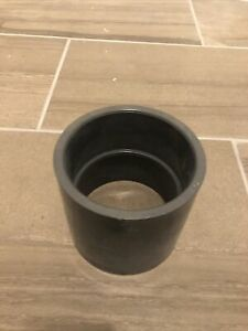 Sch 80 Pvc 4 Inch Straight Coupling Socket Connect