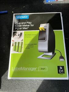 Dymo Plug And Play Label Maker For Pc Or Mac Labelmanager Manager D1 Easy