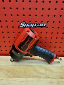 Snap on Tools Pt850 1 2 Dr Red Pneumatic Impact Wrench Air 2020 Lightly Used
