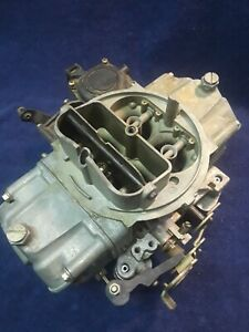 Used Holley List 3310 750 Cfm Vacuum Secondary Performance Carburetor
