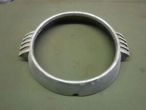 1954 Lincoln Head Light Trim Ring Part Fab 13052 b Used Oem