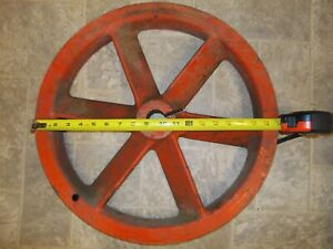 19 Mystery Air Compressor Pulley Flywheel Sheave Large Industrial