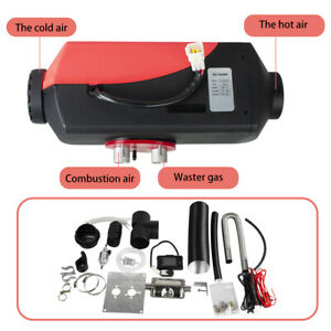 Pro 12v 5kw Diesel Fuel Air Heater For Car Truck Boat Bus More Vehicles Portable