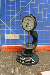 Hard To Find B C Ames Surface Base With Federal Dial Indicator