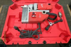 Milwaukee 4272 21 13 Amp 1 5 8 Electromagnetic Drill Kit In Case