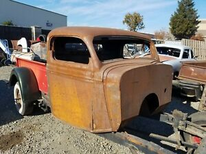 1935 1936 1937 Ford Pickup Truck Cab Chopped Suicide Doors Rat Rod