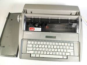 Brother Sx 4000 Daisywheel Electronic Dictionary Typewriter With Cover