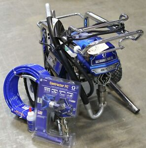 Graco Ultimate Mx Ii 490 Pc Pro Loboy 826244 New Gun Hose B Condition