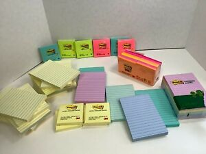 Post it Notes America s Favorite Sticky Note Multi colors Sizes 41 Ct