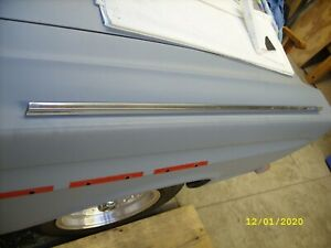 1965 Comet Hardtop Original Passenger Side Door Top Trim Molding