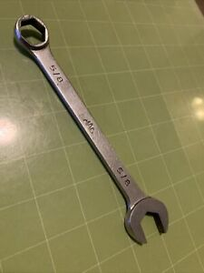 Mac 5 8 6 Point Combination Wrench Open Box End Ch20 Sae S6