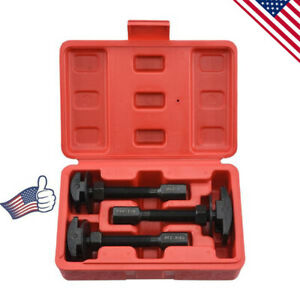 3pcs Rear Axle Bearing Puller Set Extract Service Repair Installer Tool Black