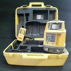 Topcon Rl h1sa 10 Single Grade Rotary Laser Level With Receiver Clamp 94