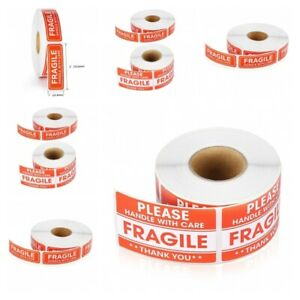 Portable Fragile Stickers Diy Safety Warning Labels For Packaging Accessories