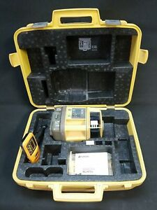 Topcon Rl h1sa 10 Single Grade Rotary Laser Level With Receiver Clamp 42