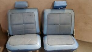 1969 Amc Rebel Sst Reclining Bucket Seats W Headrests 4 Door Station Wagon Amx