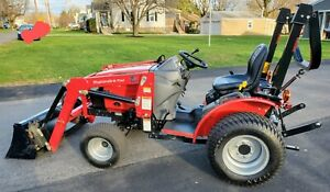 Mahindra Max 24 Tractor 4wd Hst Loader 2020 6 Hours