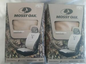 2 Packs 1 Pair Total Mossy Oak Seat Cover Lowback Free Shipping