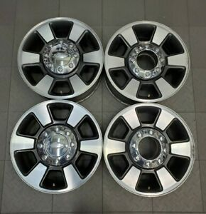 3843 Ford F250 F350 18 Factory Oem Alloy Wheels Rims Set 2011 2020 Bc3z1007b