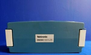 Tektronix 1503c Protective Front Cover For Metallic Time domain Reflectometer