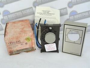 White Rodgers 1a66 641 Electric Heat Thermostat Range 40 85 f new In Box