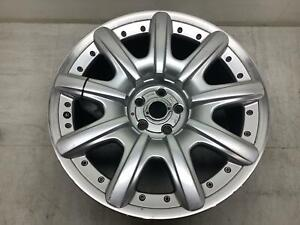 03 10 Bentley Continental 19 Wheel Rim 9 Spoke No Center Cap Face Marks