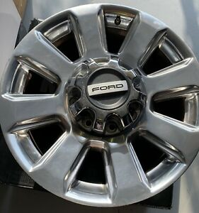 20 Ford F250 F350 Factory Oem Wheels Rims Chrome Plated Platinum Set Of 4