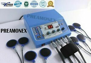 Electrotherapy 4 Channel Pain Relief Massage Abs Cabinet 110v Physical Therapy