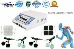 4 Channel Electrotherapy Physical Pain Relief Ultrasound Machine Ultrasonic