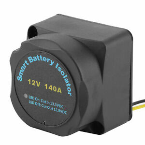 Vsr Sensitive Relay Practical Dual Battery Isolator Plastic Convenient For Car