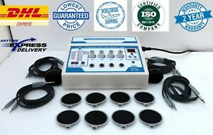Prof 4 Channel Electrotherapy Machine Multi Pain Relief Ultrasound Therapy Dev
