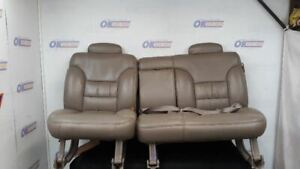 1997 Chevy Tahoe Rear Seat Neutral Tan Leather Code 522