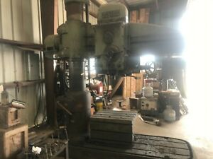 Us Industrial Radial Arm Drill Press american Hole Wizard