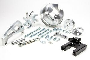 March Performance Aluminum Big Block Chevy Serpentine Pulley Kit P n 23005