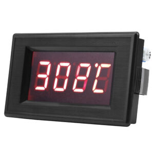Led Digital Display Thermocouple Temperature Tester Ktype Anti Interference