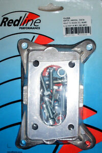 Ww Stromberg To Holley 2bbl 350 Cfm Holley 500 Carby Adaptor Plate Carburettor