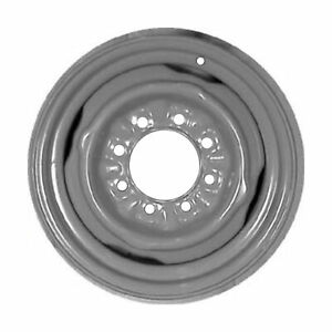 01599 Refinished Fits 1978 1991 Ford F 250 16 Inch Silver Steel Wheel Rim