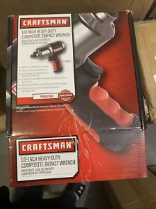 New Craftsman 1 2 In Pneumatic Composite Heavy Duty Impact Wrench 19984