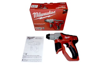 New Milwaukee M12 2412 20 Lithium ion 12v Cordless 1 2 Sds Plus Rotary Hammer