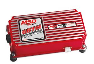 Msd 6462 6btm Series Multiple Spark Ignition Controller W Boost Timing Master