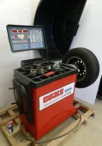 Coats 1250 2d Tire Balancer With Warranty Remanufactured