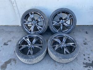 19 Rims Wheels Tires Set Forged Front Rear 19 Inch Nissan 370z 09 19 Oem