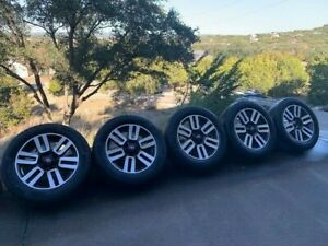 Five 20 Oem 5th Gen Toyota 4runner Limited Wheels With Tires tpms Sensors