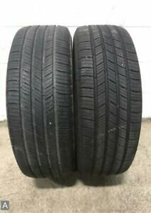 2x P215 55r17 Michelin Defender T h 7 8 32 Used Tires