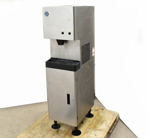 Hoshizaki Dcm 270bah Cubelet Ice Maker Water Dispenser Stand 404a Push button