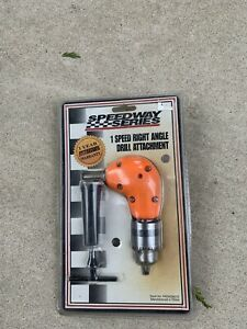 Speedway Series One Speed Right Angle Drill Attachment