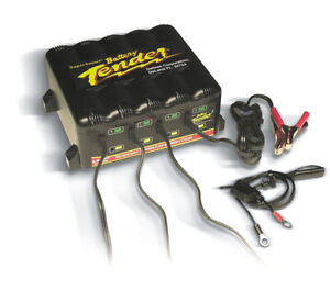Battery Tender Battery Charger Four Bank 12 V 1 25 Amp Charge Rate Ea