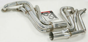Obx r 2 Piece Manifold Header Exhaust Set Fits With 70 81 Camaro