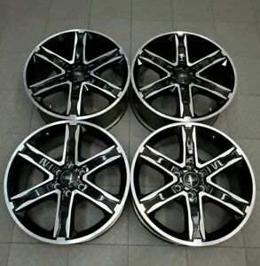 10200 Ford F150 Expedition 22 Machined Black Oem Wheels 2019 2020 Kl1j1007aa